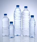 Bottled water stock photos
