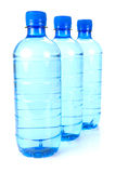 Bottled Water Droplets Stock Photo