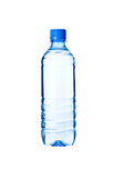 Bottled water isolated over a white background Stock Photos