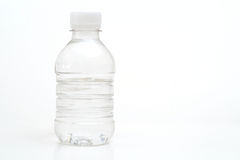 Bottled water on white. Shot of bottled water on white Stock Image