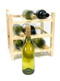 Bottled Wine Stock Image