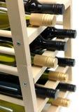 Bottled Wine Royalty Free Stock Photos