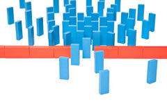 Bottleneck concept Stock Image