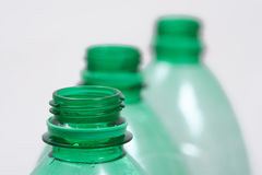 Bottleneck of plastic Bottles Stock Photos