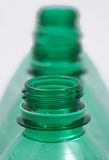 Bottleneck of plastic Bottles Royalty Free Stock Photos