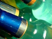 bottlenecks бирюза Стоковое Изображение