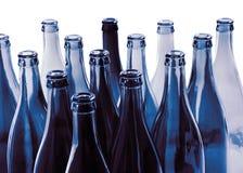 Bottles. Empty bottles on white background Royalty Free Stock Image