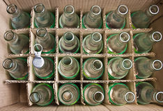 Bottles. Empty bottles prepare for recycle royalty free stock photography