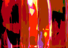 BOTTLES. ABSTRACT RENDERING OF BOTTLES USING PHOTOSHOP Stock Photography