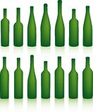 Bottles stock illustration