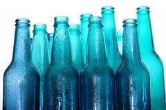 Bottles. Background with creative bottles.Creative bottles Stock Photography