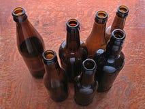 Bottles. Beer bottles Stock Images