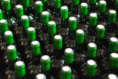 Bottles background Royalty Free Stock Photos