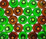 Bottles background Stock Photography