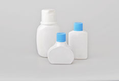 Bottles beauty products Stock Image