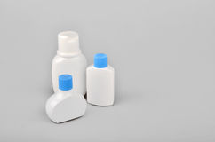 Bottles beauty products Stock Photography