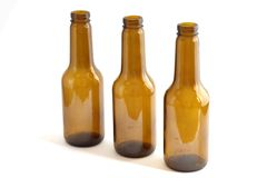Bottles of beer Stock Images