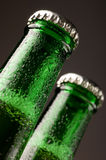 Bottles of beer Royalty Free Stock Photos