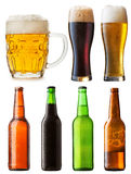 Bottles beer Royalty Free Stock Image