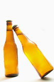Bottles of beer. Isolated on white Stock Image