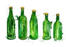 Bottles of beer Stock Photos