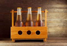 Bottles of beer Stock Photo