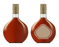 Bottles of cognac (brandy) Royalty Free Stock Photo