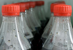Bottles of cola Royalty Free Stock Image