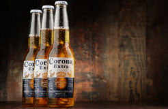 Bottles of Corona Extra beer Royalty Free Stock Photography