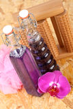 Bottles of cosmetic Stock Photo