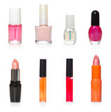 Bottles of cosmetics Stock Photography