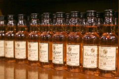 Bottles of Dalwhinnie scotch whisky Royalty Free Stock Photos