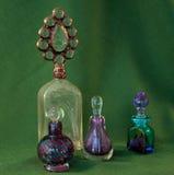 bottles dekorativ doft Fotografering för Bildbyråer