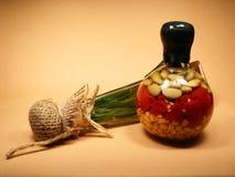 bottles dekorativt Arkivbilder