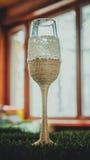 bottles dekorativt exponeringsglas Fotografering för Bildbyråer