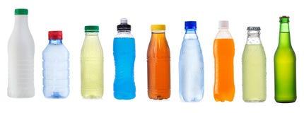 bottles den olika seten Royaltyfri Fotografi