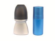 bottles deodoranten isolerade två Royaltyfria Foton