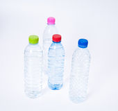 Bottles of Drinking Water Stock Photo