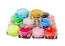 bottles färgrika lott Fotografering för Bildbyråer