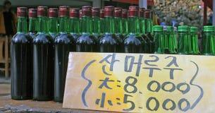 bottles försäljning arkivbilder