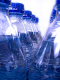 Bottles of Fresh Cold Water Stock Photo