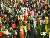Bottles full frame Royalty Free Stock Photo