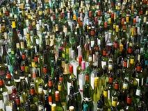 Bottles full frame Stock Image