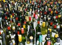 Bottles full frame Royalty Free Stock Image