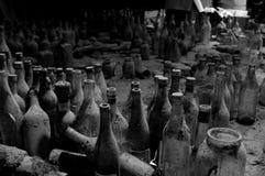 bottles gammalt Arkivbild