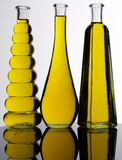 SELECTION OF COOKING OILS royalty free stock photography