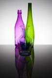 Bottles & Glasses Royalty Free Stock Image