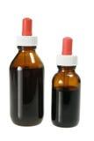 Bottles of Herbal Medicine Stock Photo