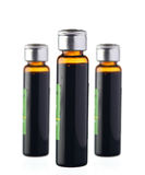 Bottles isoalted stock photos