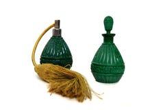 bottles jade Arkivbilder
